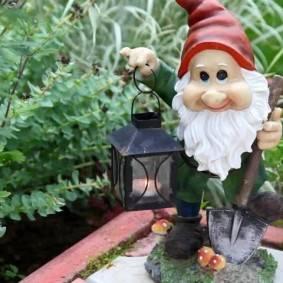 Аист для сада своими руками