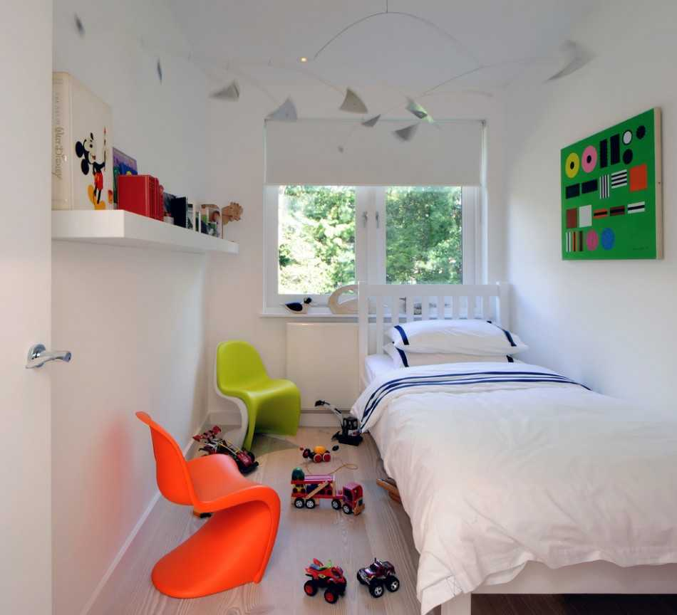 Грамотный дизайн детской спальни – залог комфорта ребенка