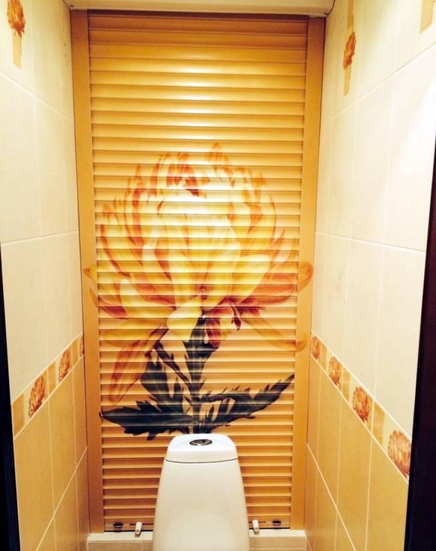 Установка рольставней в туалете - все о канализации