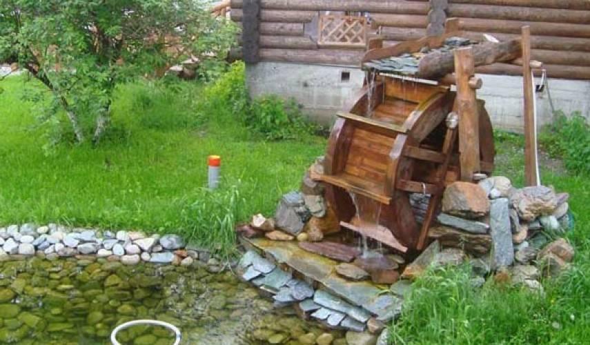Деревянные мельницы: видео-инструкция по монтажу своими руками, особенности изделий для сада, чертежи, цена, фото
