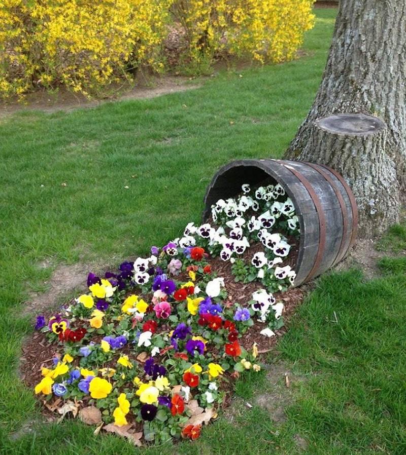 Декор для сада: пошаговая инструкция для начинающих и основные этапы украшения сада (190 фото)
