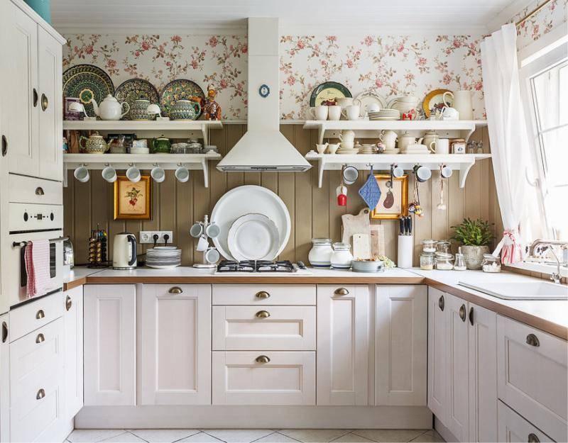 Кухня в деревянном доме: 130 фото полета фантазии дизайнера при планировании интерьера