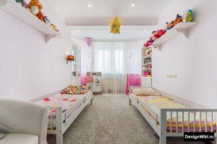 Дизайн узкой детской комнаты: примеры избавления от тесноты
