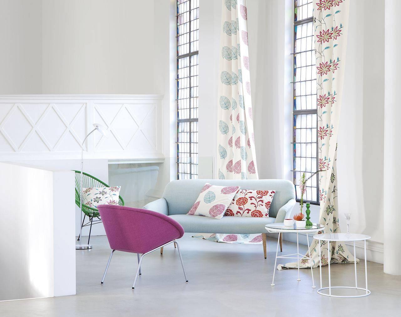 Текстиль в интерьере: текстильное оформление интерьера комнат