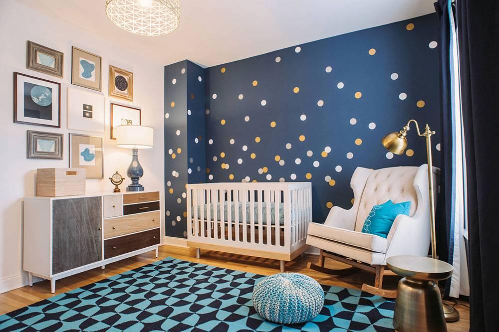 Оформление однокомнатной квартиры для семьи с ребенком