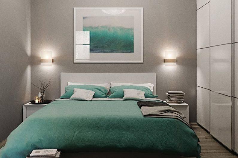 Дизайн спальни 9 кв. м (71 фото): интерьер в современном стиле. как обставить и обустроить комнату? планировка узкой спальни