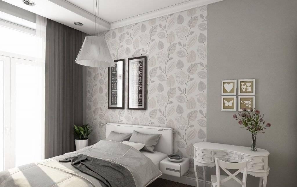 Какие обои выбрать для спальни? 71 фото какие материалы лучше подойдут для спальни? стоит ли клеить в такой комнате виниловые и флизелиновые обои?