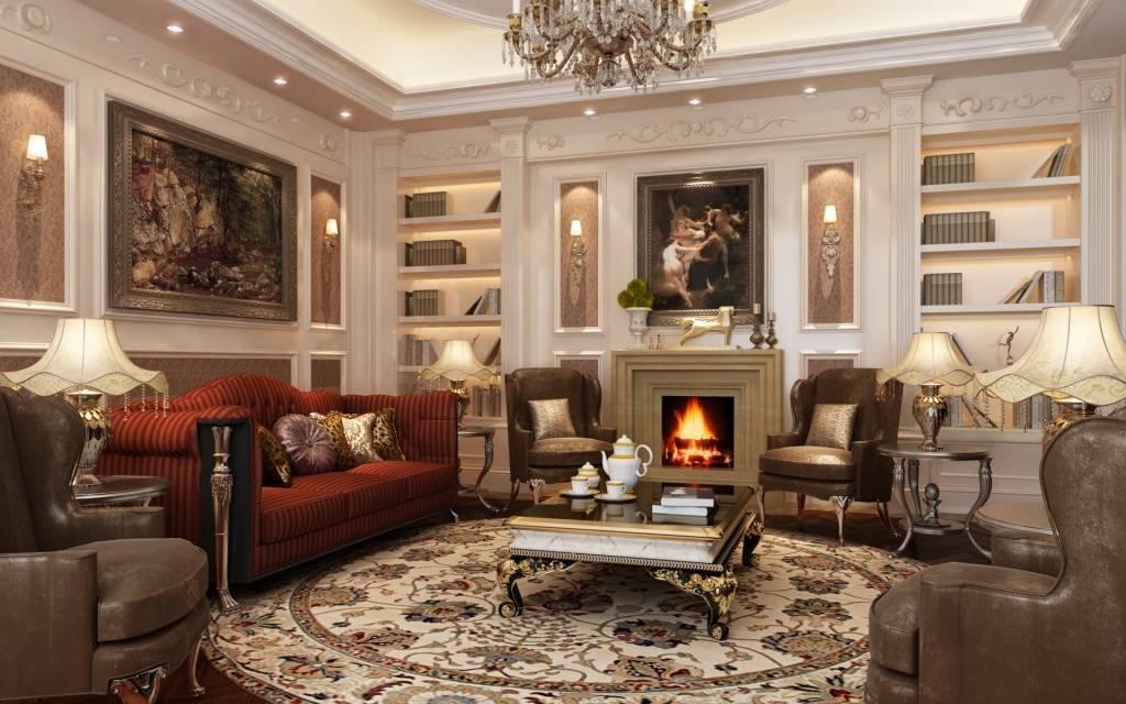 Критерии выбора белой мебели для гостиных разных стилей