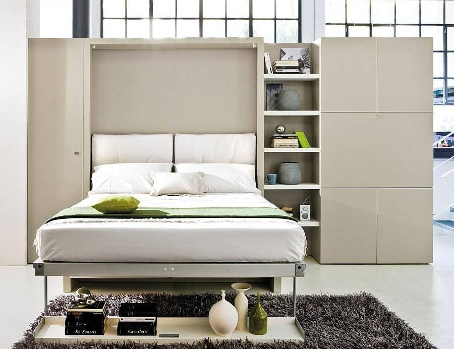 100 лучших идей: откидная кровать, встроенная в шкаф на фото