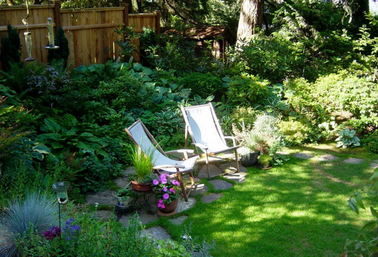 Ландшафтный дизайн двора частного дома: фото необычных проектов