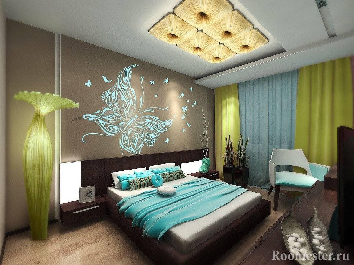 Декор спальни: 100 фото красивых идей - дизайн интереьра