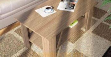 Необычные столы, интересные конструкции, расцветки и опции