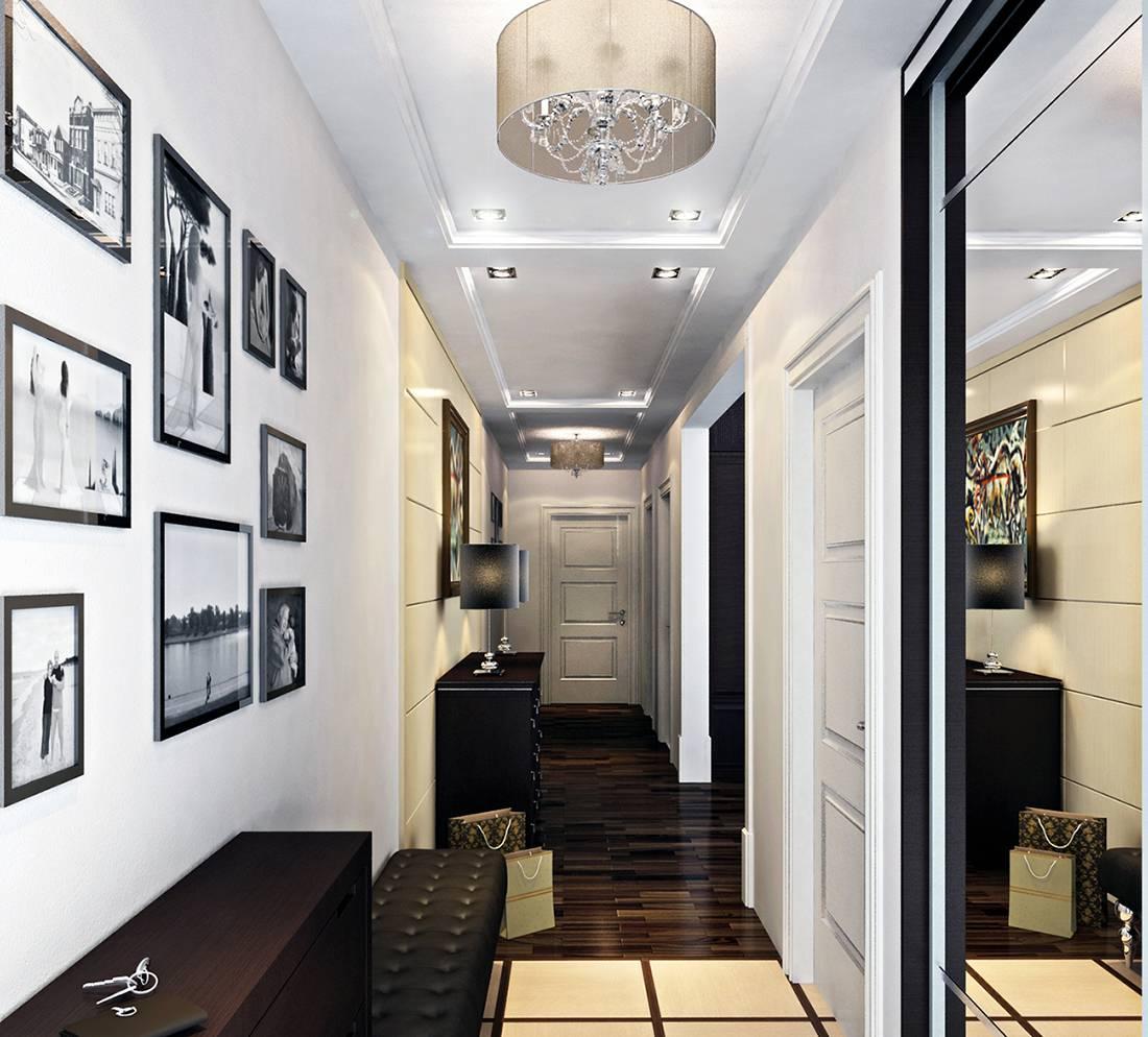 Узкий коридор в хрущевке — варианты дизайна маленькой прихожей