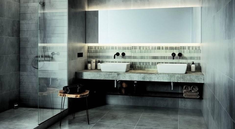Декор ванной комнаты: 15 лучших идей, 45 фото