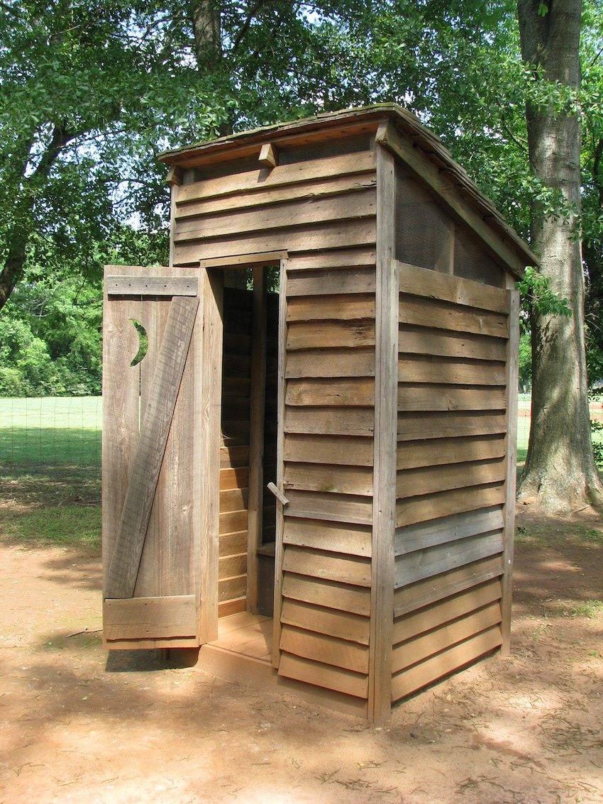 Туалет на даче своими руками. поэтапное фото