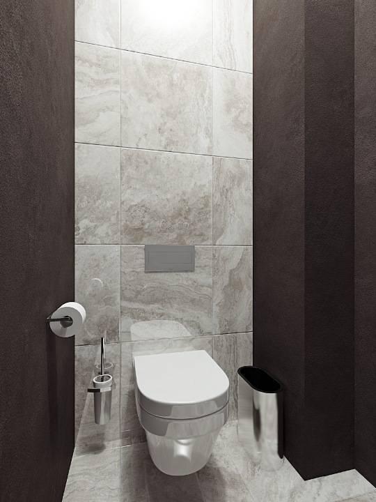 Плитка для туалета: советы по подбору кафеля и фото подборка вариаций отделки