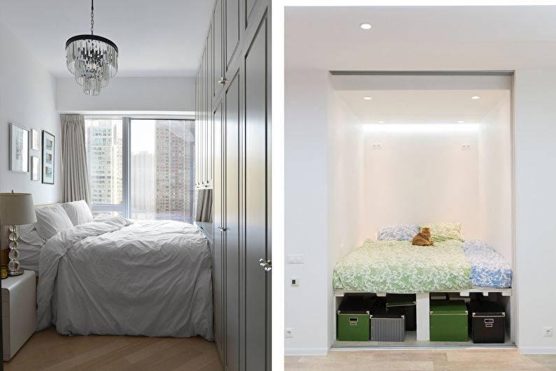 Дизайн маленькой спальни - 150 фото лучших идей и новинок дизайна