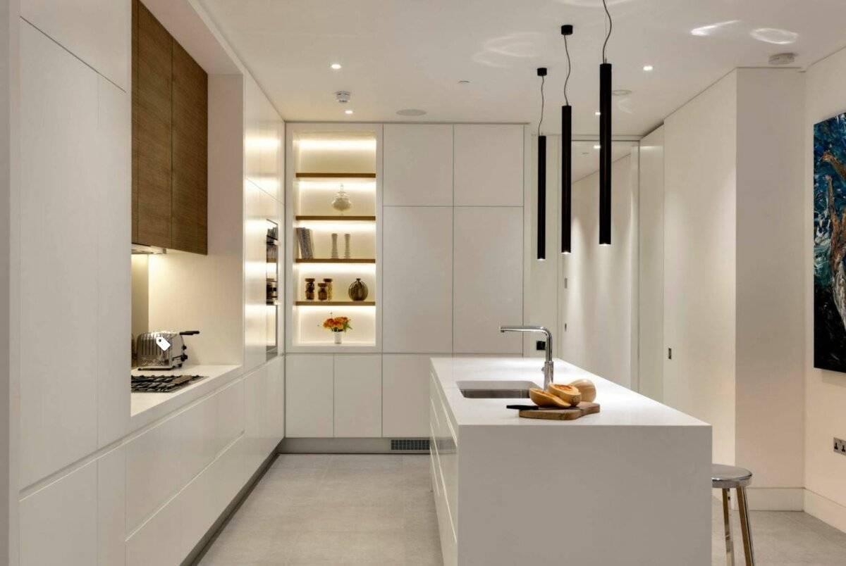 Островной модуль на вашей кухне - 151 фото пример