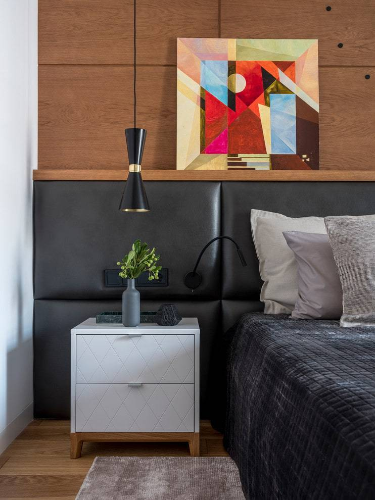 Размеры прикроватных тумб для спальни (41 фото): ширина 30, 35 и 40 см, стандартные размеры