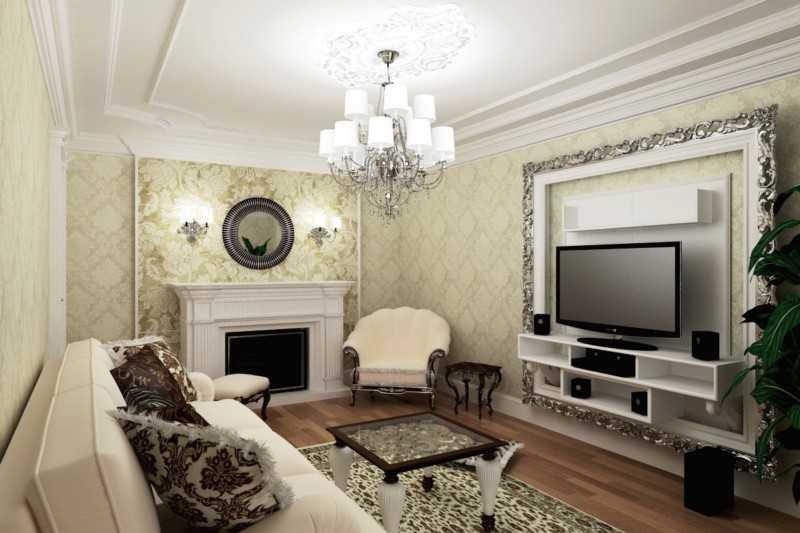 Благородная элегантность – современная классика в интерьере квартиры