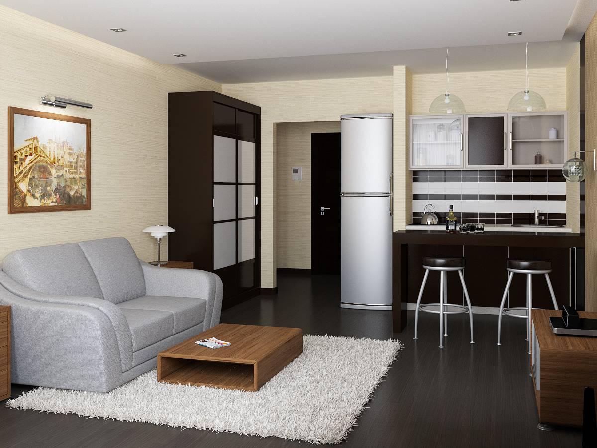 Планировка квартиры площадью 33-34 кв. м: дизайн и грамотное зонирование пространства