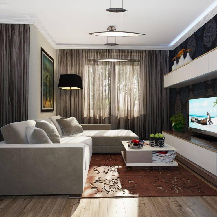 Дизайн комнаты (112 фото): современные идеи-2020 ремонта комнаты площадью 12 кв. м, проекты и планировка