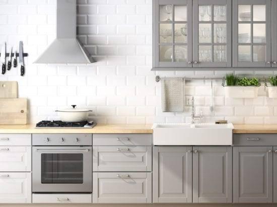 Сочетание цветов в интерьере кухни (45 фото)