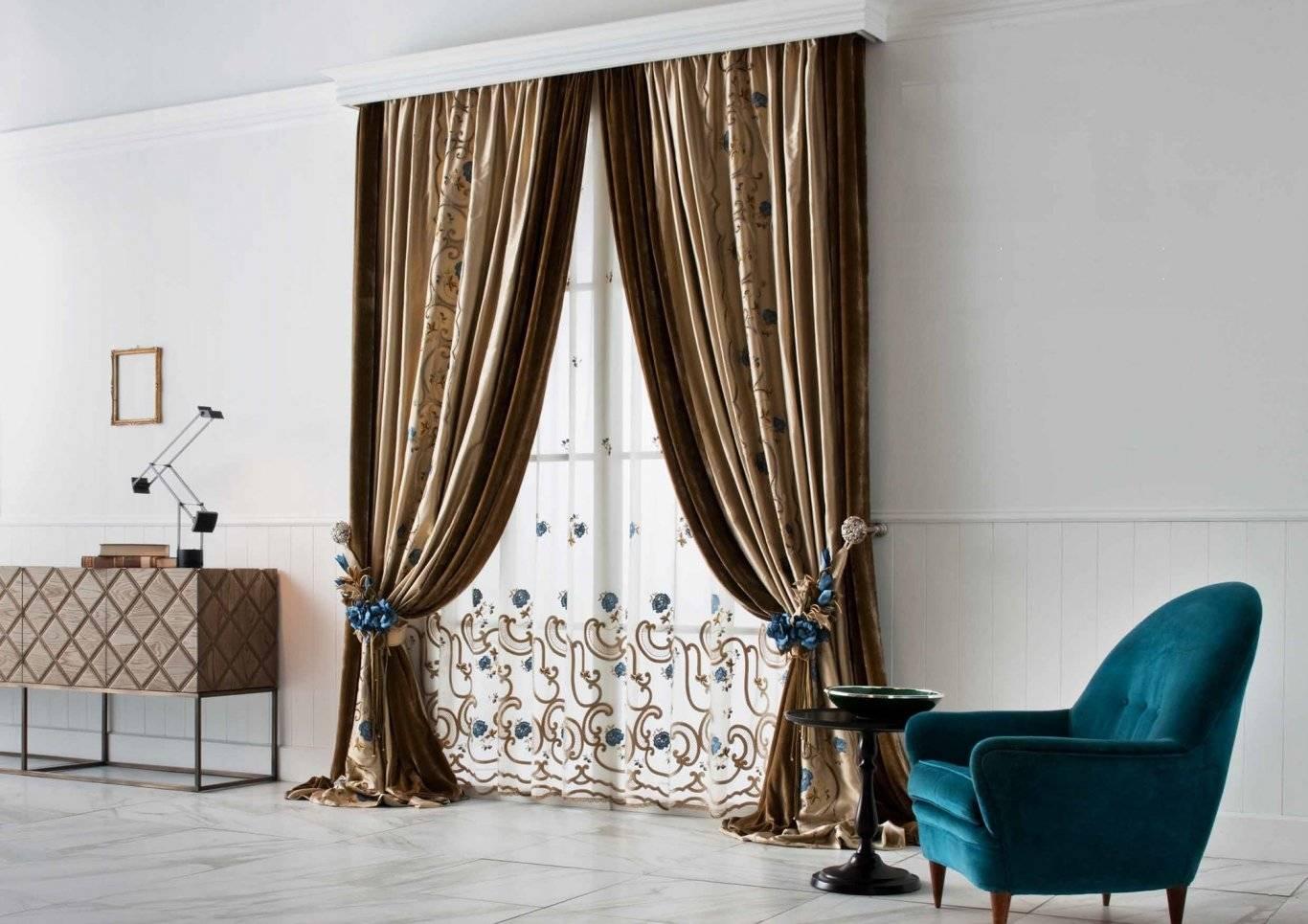 Как подобрать шторы к интерьеру правильно — комнаты, цвет, на что обратить внимание