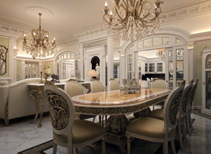 Дизайн квартиры в классическом стиле, основы стиля, планировка