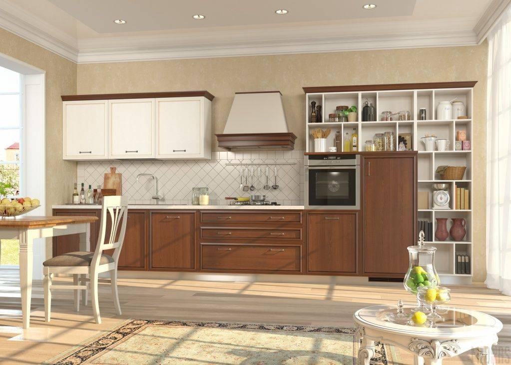 Дизайн кухни в частном доме – фото интерьера больших кухонь в загородном доме
