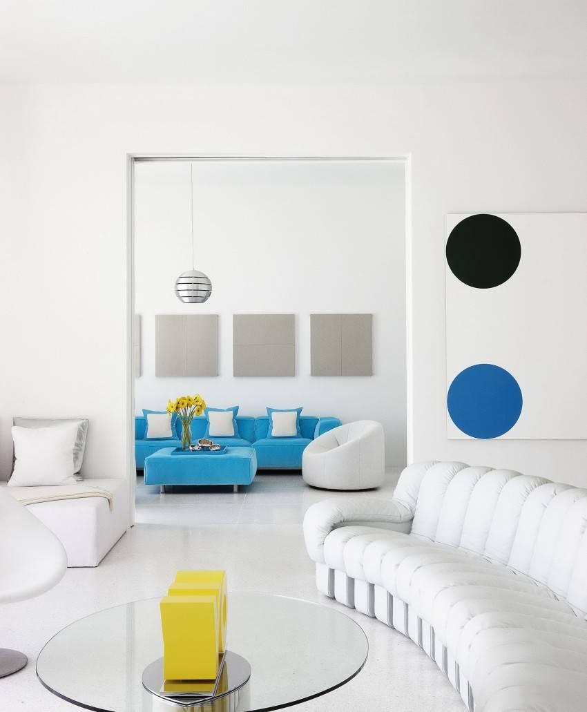 Белые стены в интерьере: 75 примеров и преимуществ