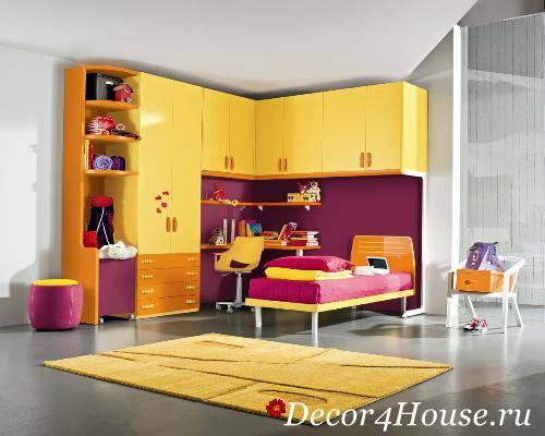 Советы по выбору модульной мебели для детской комнаты