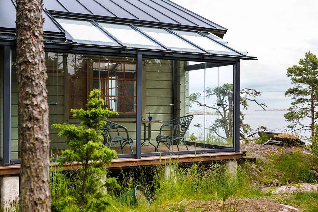 Веранда к дому с пластиковыми окнами: верандное остекление дачи, рамы пвх для закрытой террасы, как сделать самостоятельно