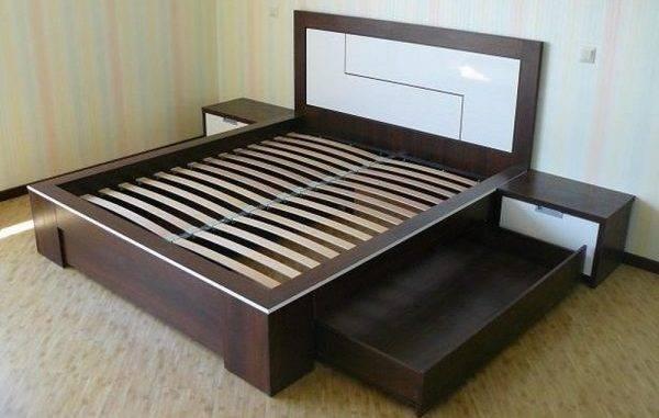 Стандартные размеры двуспальной кровати (10 фото)