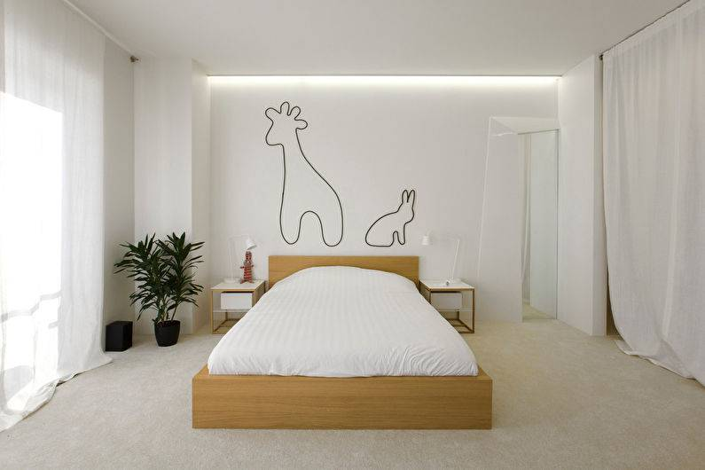 Спальня в стиле минимализм | домфронт