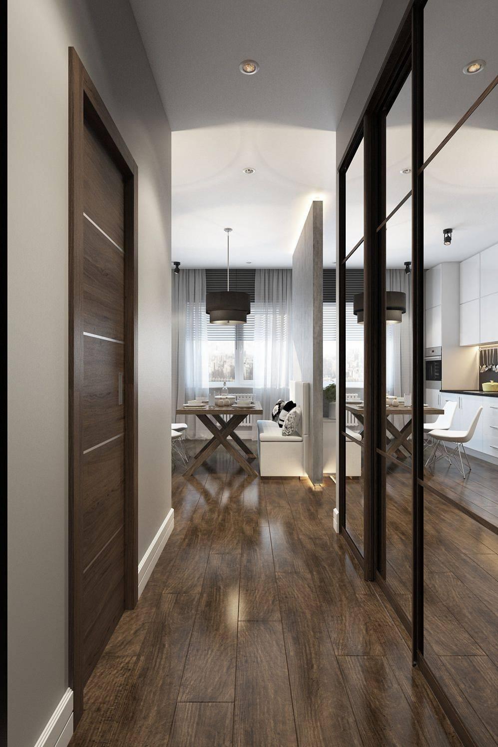Дизайн прихожей - современные идеи 2021 (125 фото): интерьер коридора в квартире, популярные современные стили