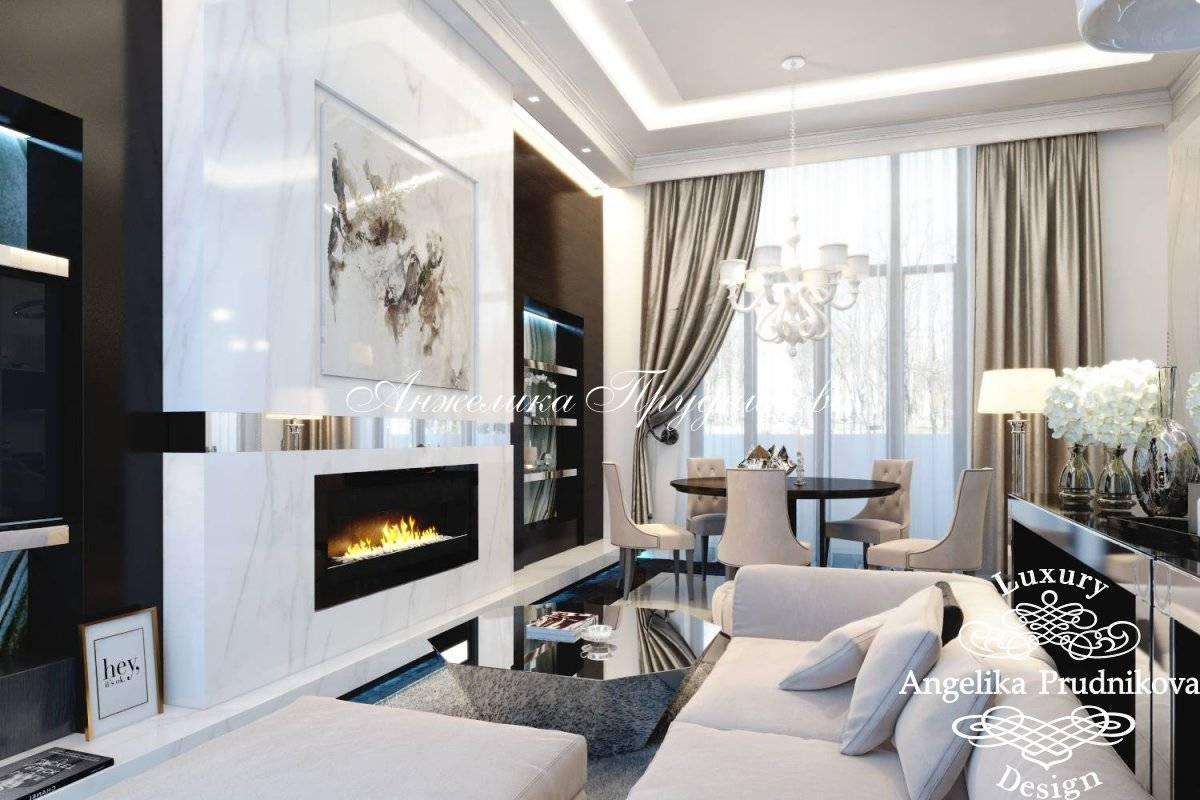 Использование стиля арт-деко в интерьерах квартир