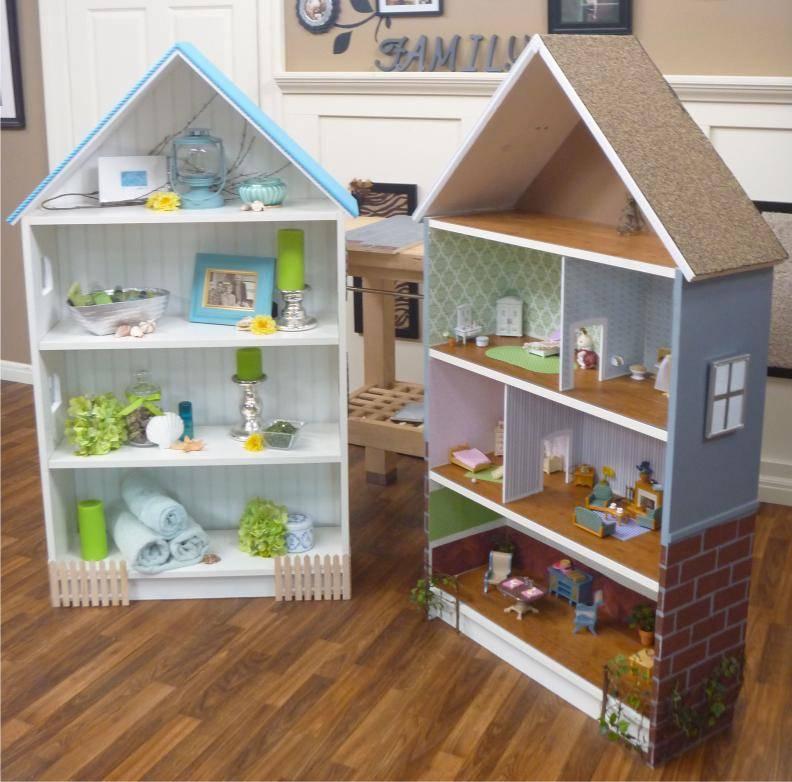 Кукольный домик своими руками - 66 фото создания игрушечного дома для детей
