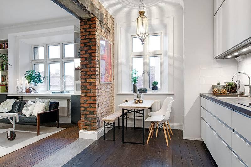 Декоративные перегородки между гостиной и кухней: объясняем по порядку