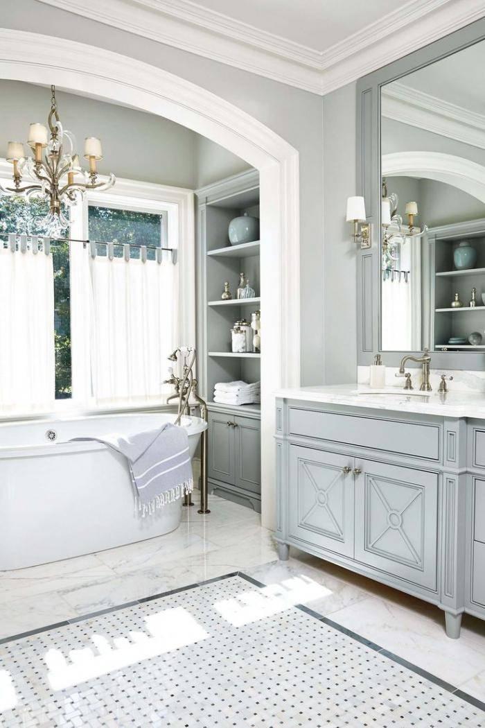 Ванна в классическом стиле: всегда модный дизайн