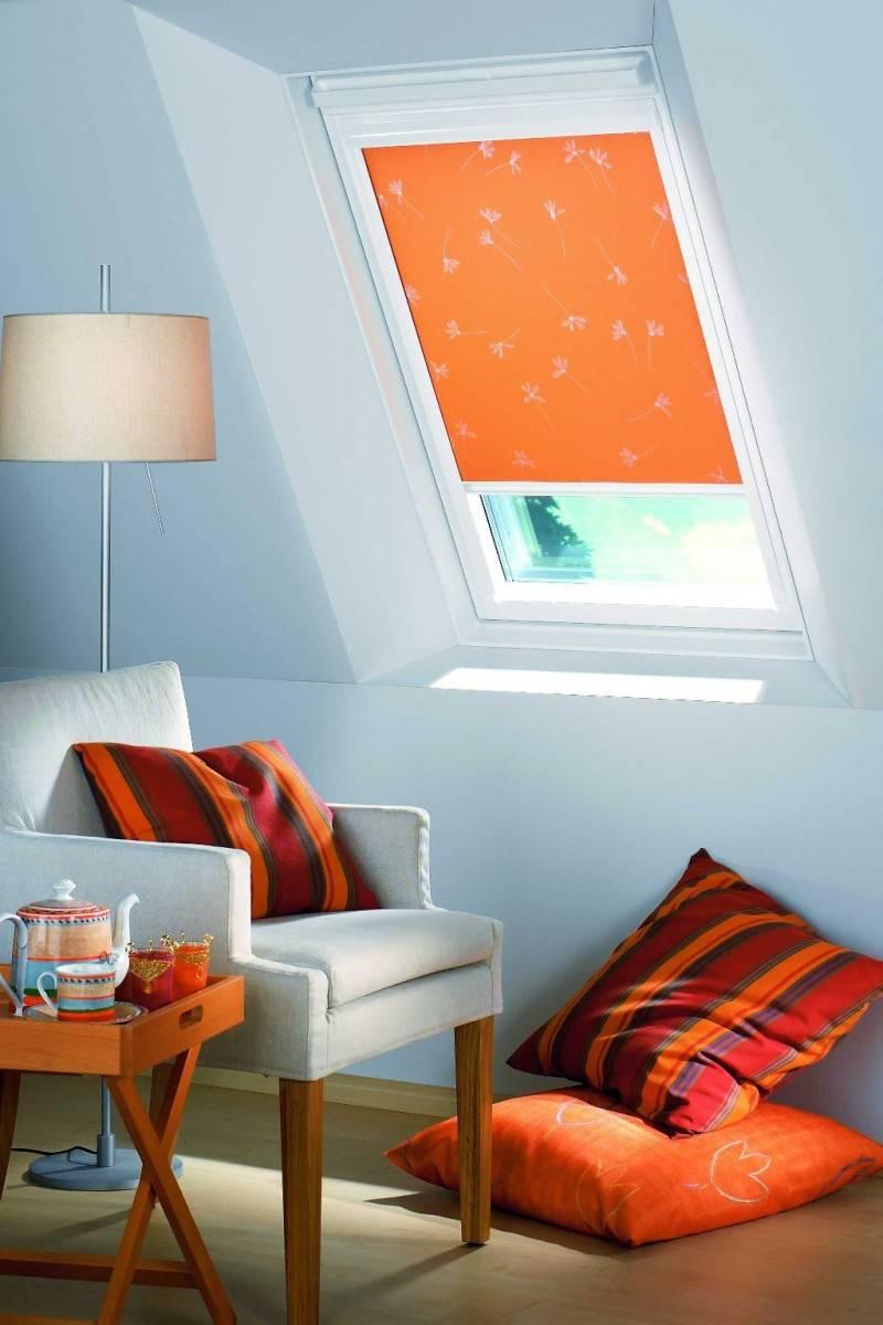 Как правильно подобрать шторы на мансардные окна