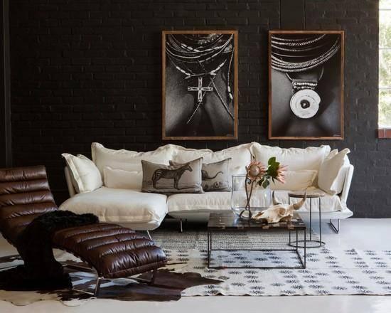 Африканский стиль в интерьере - 90 фото необычного дизайна