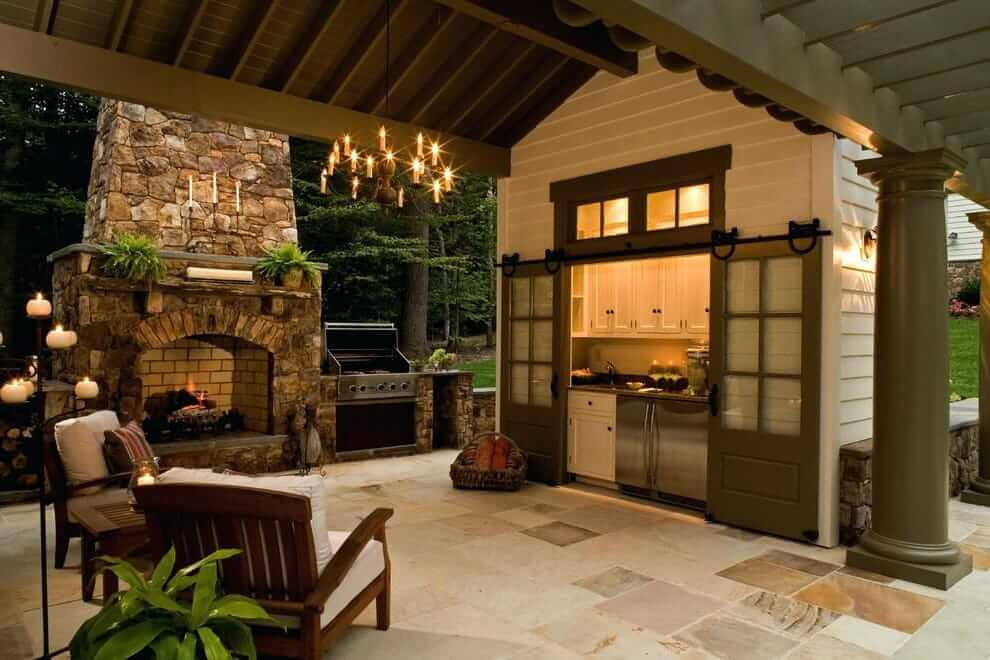 Летняя кухня на даче: устройство, проекты (60+ фото) +отзывы