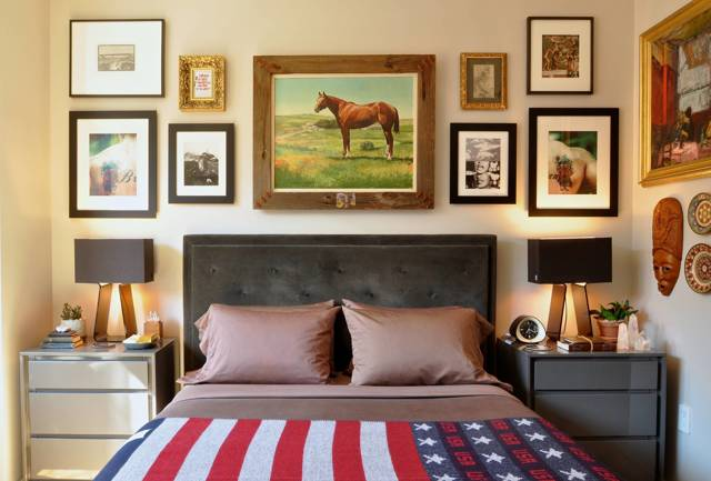 Картины для спальни: выбор и размещение