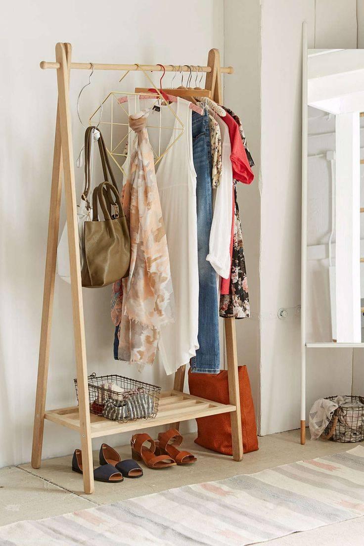 Напольная вешалка для одежды своими руками: особенности напольных вешалок, вешалка из дерева, медных труб и пвх.