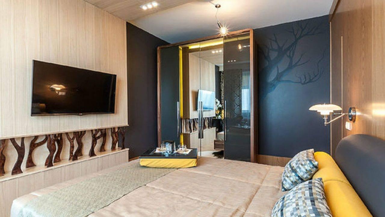 Особенности расположения мебели в спальне 12 кв. м