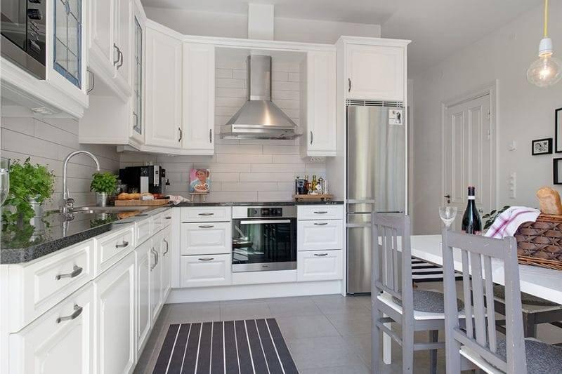 Кухня-гостиная 14 кв м