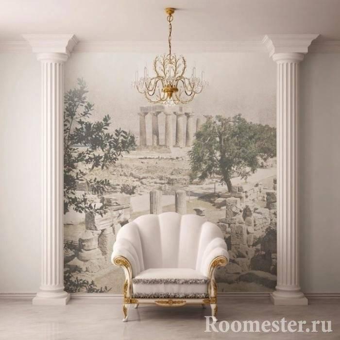 [85 идей #пилястр в интерьере 2019] роскошный декор в вашем доме