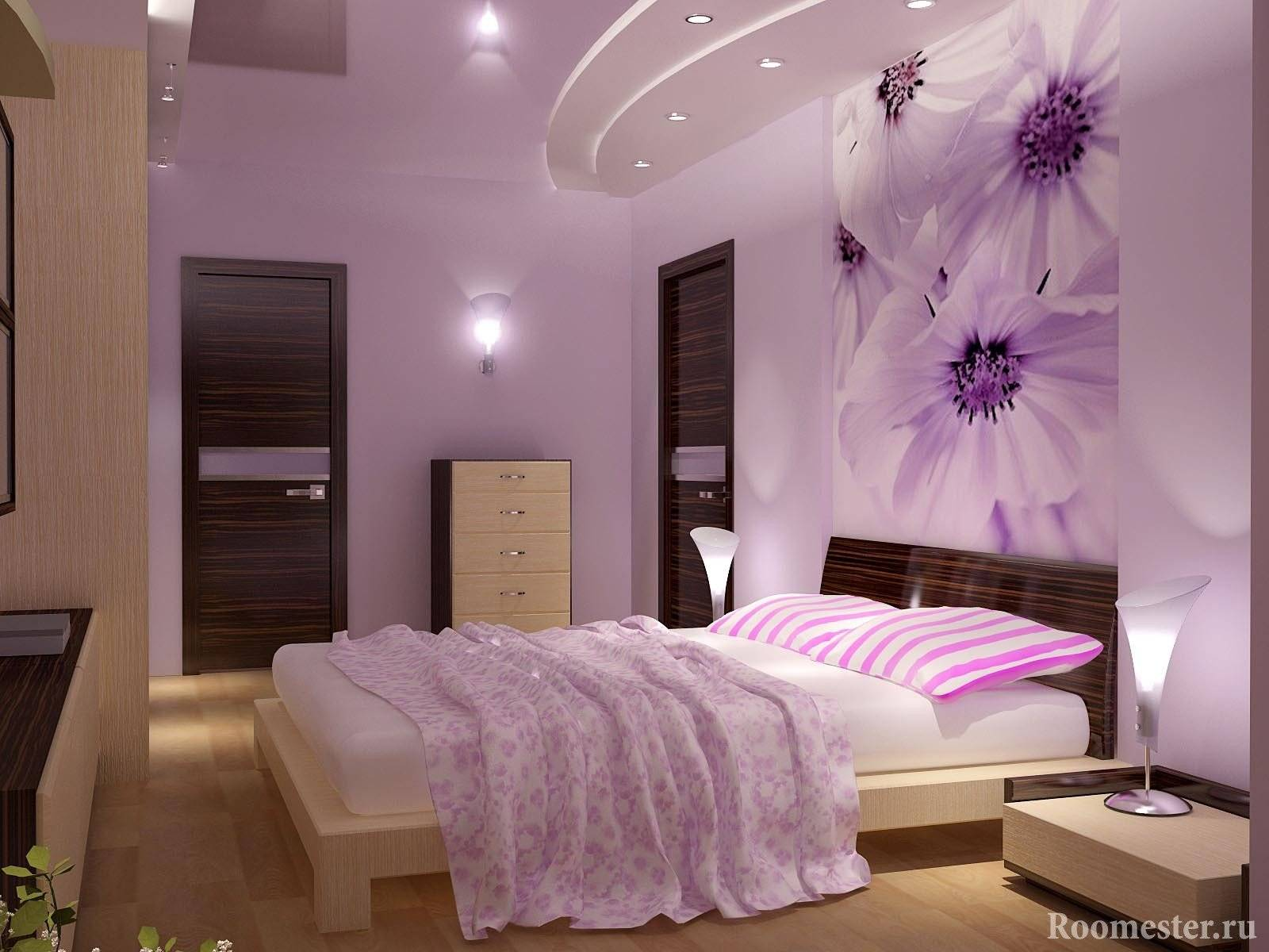 75 оригинальных идей декора интерьера спальни с фото