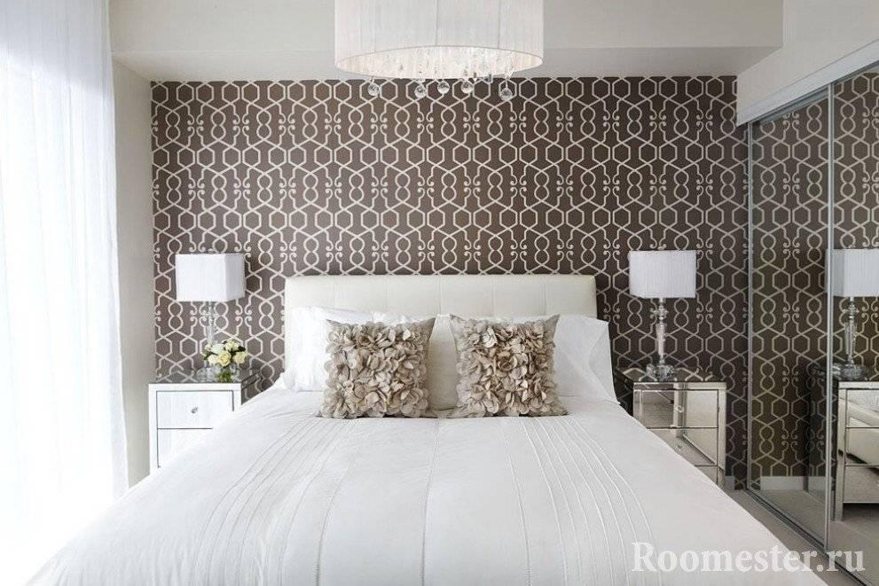 Дизайн маленькой спальни 9 кв. м — 35 фото интерьера